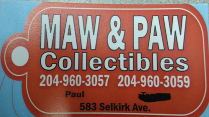 Maw & Paw Collectibles - Magasins d'occasions