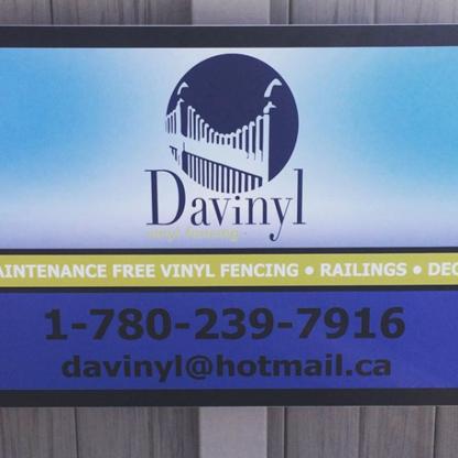 Davinyl Products LTD - Fences - 780-239-7916