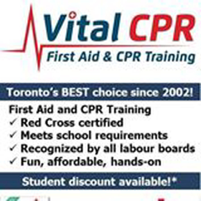 Vital CPR - First Aid Training - First Aid Services - 416-855-7813