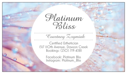 Platinum Bliss - Eyelash Extensions - 250-719-4381