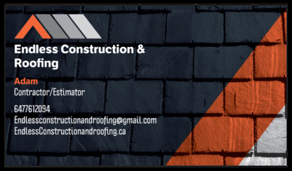 Endless Construction & Roofing - Roofers