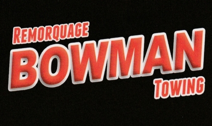 Remorquage Bowman - Vehicle Towing - 819-210-4172