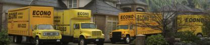 Econo Moving & Storage Ltd - Moving Services & Storage Facilities - 604-980-3333