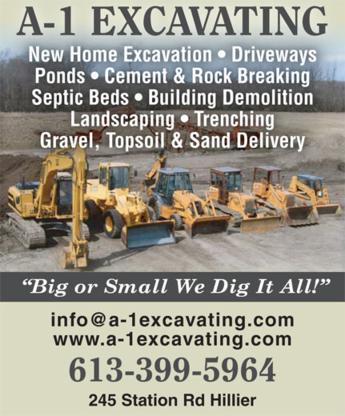 View A 1 Excavating's Belleville profile
