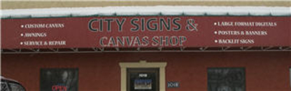 City Signs & Canvas Shop - Awning & Canopy Sales & Service - 403-526-1752