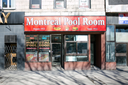 Montréal Pool Room - Restaurants - 514-954-4487