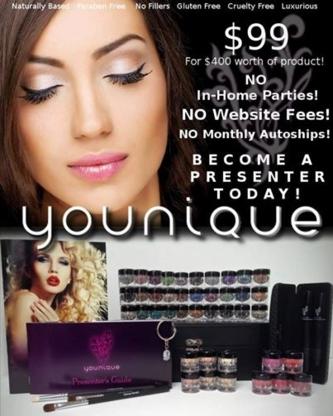 Younique by Milene Pittman - Parfumeries et magasins de produits de beauté - 902-740-0626