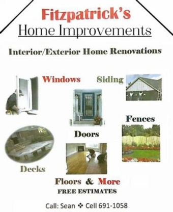 Fitzpatricks Home Improvement - Home Improvements & Renovations - 709-691-1058