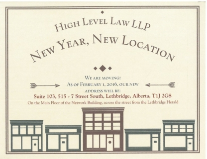High Level Law LLP  - Real Estate Lawyers - 403-381-4464