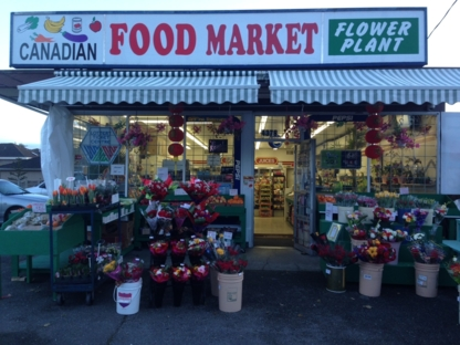 Canadian Food Market - Florists & Flower Shops