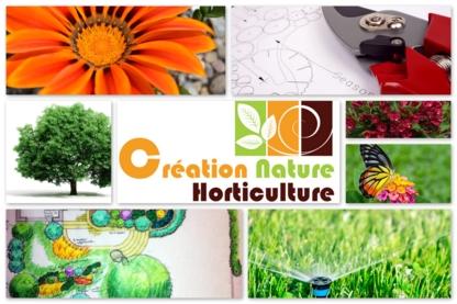 Création Nature Horticulture - Paysagistes et aménagement extérieur - 514-927-0387