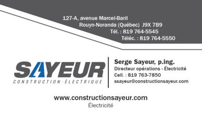 Construction Sayeur - General Contractors