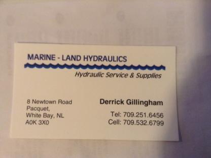Marine-land Hydraulics - Fournitures et matériel hydrauliques