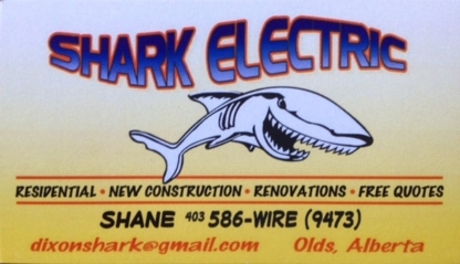 Shark Electric Inc - Electricians & Electrical Contractors - 403-586-9473
