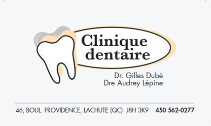 Clinique Dentaire Dre Audrey Lépine - Dentists - 450-562-0277