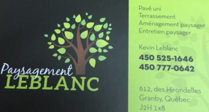 Paysagement Leblanc - Landscape Contractors & Designers