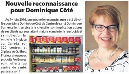 Centre Santé Dominique - Weight Control Services & Clinics - 450-266-1567