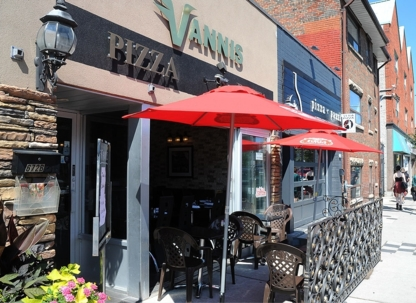 Vannis Pizza Wine & Grill - Italian Restaurants - 647-559-4490