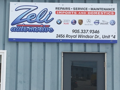Zeli Automotive - Car Repair & Service - 905-337-9346