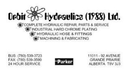 Orbit Hydraulics 1988 Ltd - Hydraulic & Air Cylinders - 780-539-3723