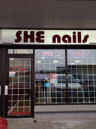 She Nails - Nail Salons - 604-746-1401