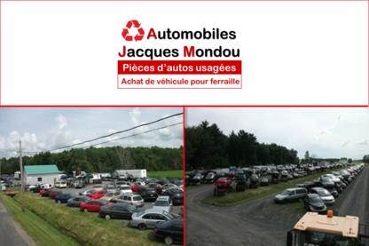 Mondou Jacques Automobiles - Accessoires et pièces d'autos d'occasion - 450-789-2121