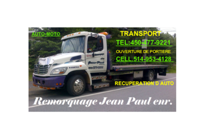 Voir le profil de Remorquage Jean-Paul Enr - Sainte-Sophie