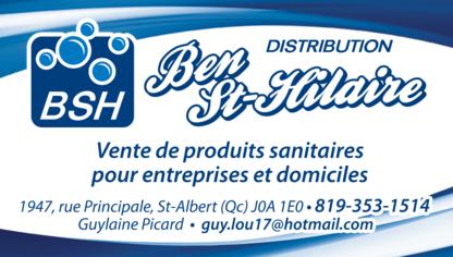 Distribution Ben St-Hilaire BSH - Produits sanitaires