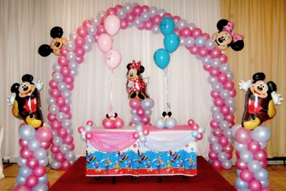 Le Ballonier Fantastique - Convention & Party Decorators