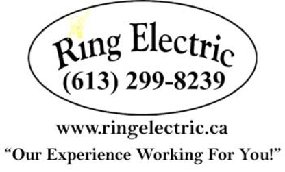 Ring Electric - Electricians & Electrical Contractors - 613-299-8239