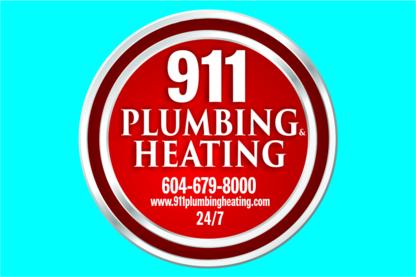 911 Plumbing Heating Drainage Ltd - Plumbers & Plumbing Contractors - 604-679-8000