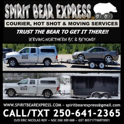 Spirit Bear Express - Courier Service - 250-641-2365