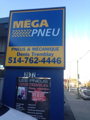 Pneus Denis Tremblay - Tire Retailers