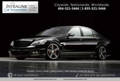 Intralink Transportation & Limousines - Limousine Service - 604-521-5466