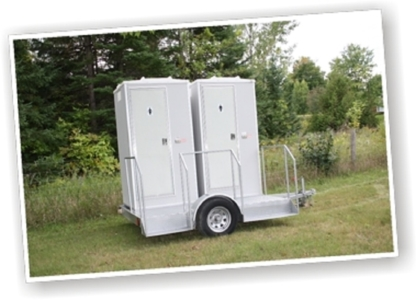 The Classy Commode - Portable Toilets