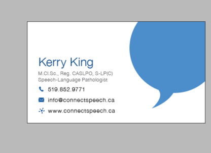 Connect Speech Language & Swallowing Services - Speech-Language Pathologists - 519-852-9771