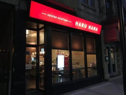 Restaurant Haru hana - Korean Restaurants - 514-903-5005
