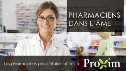 Pharmacies Affiliated With Proxim - Pharmaciens - 514-336-7337