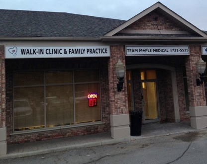 Team Maple Walk In Clinic - Medical Clinics - 905-731-5535