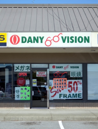 Dany Vision - Opticiens - 778-297-1414