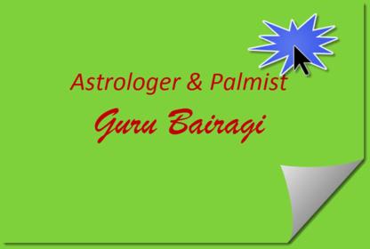 Astrologer & Palmist - Guru Bairagi - Astrologers & Psychics