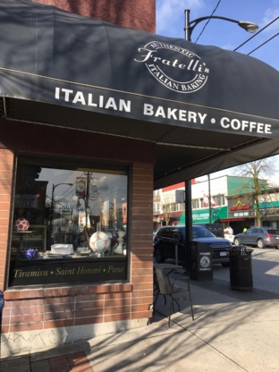 Fratelli Authentic Italian Baking - Italian Restaurants - 604-255-8926