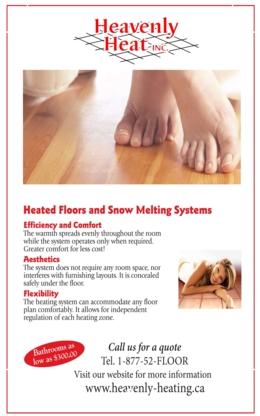 Heavenly Heat - Ceramic Tile Installers & Contractors - 416-650-6427
