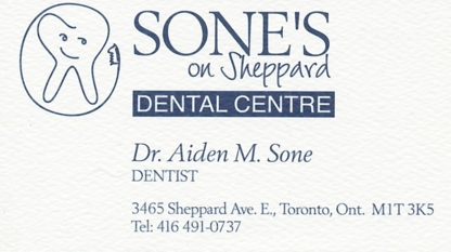 Sone's On Sheppard Dental Centre - Teeth Whitening Services - 416-491-0737