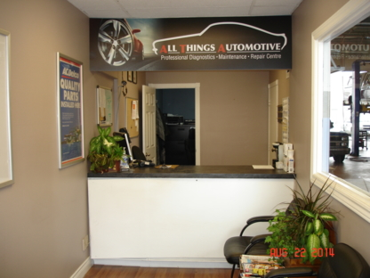 All Things Automotive - Auto Repair Garages - 905-853-6161