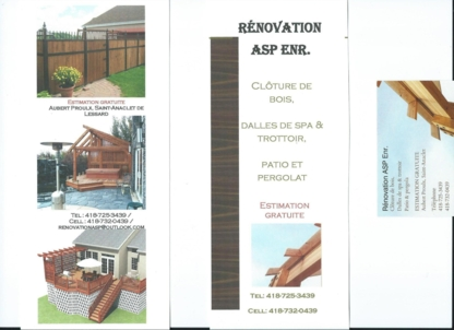 Entreprises ASP Inc-Solution AS - Déneigement - 418-732-0439