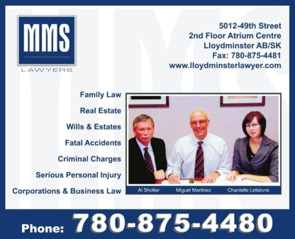 Fox Wakefield & Sholter - Lawyers - 780-875-4480