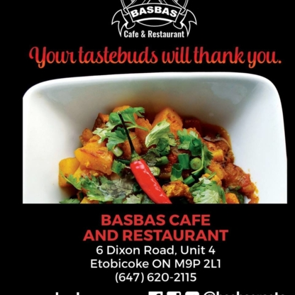 Basbas Cafe and Restaurant - Restaurants - 416-901-8227