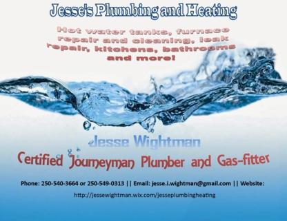 Jesse's Plumbing - Plombiers et entrepreneurs en plomberie - 778-215-4786
