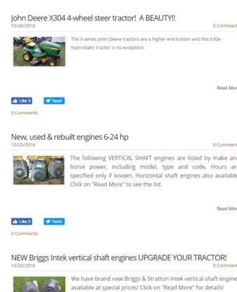 JD's Small Engine Repair - Engine Repair & Rebuilding - 780-679-3414